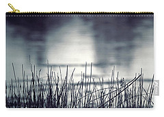 Carry-all Pouch featuring the photograph Between The Waters by Trish Mistric