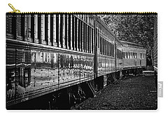Carry-all Pouch featuring the photograph Between Trains by Mitch Shindelbower