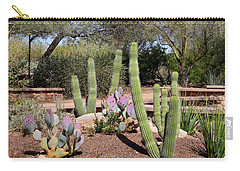 Carry-all Pouch featuring the photograph Between Walls by Kathryn Meyer
