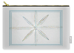 Carry-all Pouch featuring the photograph Beveled Glass by Ellen O'Reilly