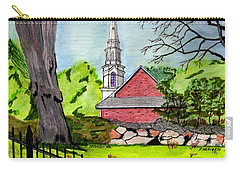 Beverly First Baptist Church Carry-all Pouch by Paul Meinerth