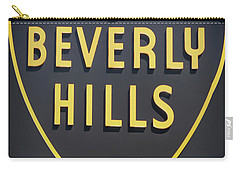 Beverly Hills Sign Carry-all Pouch