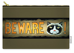 Beware Carry-all Pouch by Jim Harris