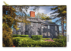 Bewitching Salem Carry-all Pouch by Carol Japp
