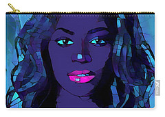 Beyonce Graphic Abstract Carry-all Pouch by Dan Sproul