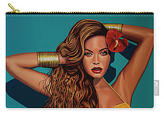 Beyonce 2 Carry-all Pouch by Paul Meijering