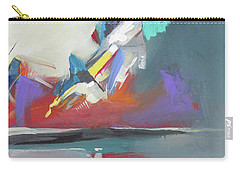 Carry-all Pouch featuring the painting Beyond Reflection by John Jr Gholson