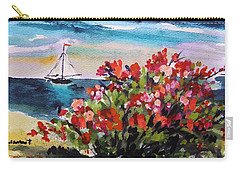 Beyond Sea Roses Carry-all Pouch