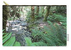Carry-all Pouch featuring the photograph Beyond The Ferns by Marie Neder