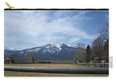 Carry-all Pouch featuring the photograph Beyond The Field by Jewel Hengen