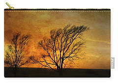 Carry-all Pouch featuring the photograph Beyond The Horizon by Jan Amiss Photography