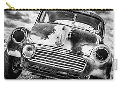 Beyond The Thunderdome In Black And White Carry-all Pouch
