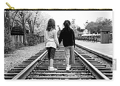 Carry-all Pouch featuring the photograph Bff's by Greg Fortier