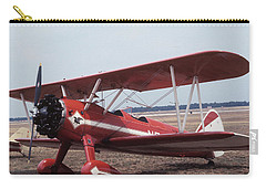 Carry-all Pouch featuring the photograph Bi-wing-1 by Donald Paczynski