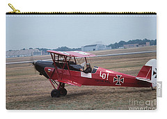 Carry-all Pouch featuring the photograph Bi-wing-2 by Donald Paczynski