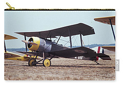 Carry-all Pouch featuring the photograph Bi-wing-4 by Donald Paczynski