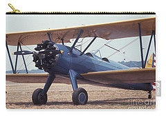 Carry-all Pouch featuring the photograph Bi-wing-8 by Donald Paczynski