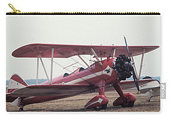 Carry-all Pouch featuring the photograph Bi-wing-9 by Donald Paczynski