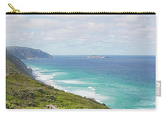 Carry-all Pouch featuring the photograph Bibbulmun Track Albany Wind Farm by Ivy Ho