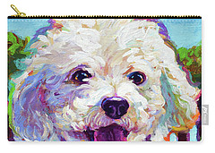 Bichon Frise Carry-all Pouch