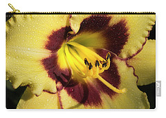 Carry-all Pouch featuring the photograph Bicolored Lily by Jean Noren