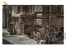 Bicycle In Rome, Italy Carry-all Pouch