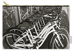 Bicycles In Belmont Shore Carry-all Pouch