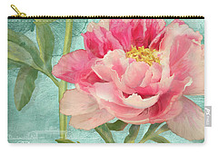 Bienvenue - Peony Garden Carry-all Pouch