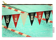 Big 10 Pennants - Uw Madison  Carry-all Pouch