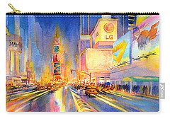 Big Apple Evening, No. 2 Carry-all Pouch by Virgil Carter