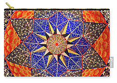 Carry-all Pouch featuring the painting Big Beauty by Kym Nicolas