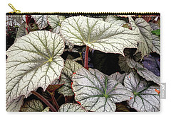 Big Begonia Leaves Carry-all Pouch