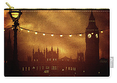 Carry-all Pouch featuring the digital art Big Ben At Night by Fine Art By Andrew David