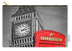 Carry-all Pouch featuring the photograph Big Ben by Delphimages Photo Creations