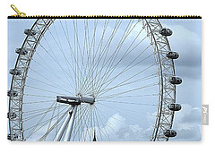 Big Ben Through The London Eye Carry-all Pouch