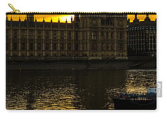 Big Ben Tower Golden Hour In London Carry-all Pouch
