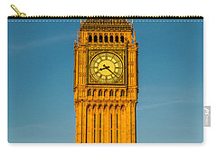 Big Ben Tower Golden Hour London Carry-all Pouch