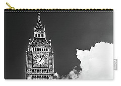 Big Ben With Cloud Carry-all Pouch