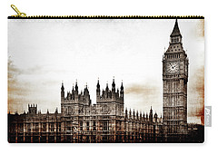 Big Bend And The Palace Of Westminster Carry-all Pouch