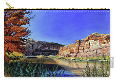 Big Bend On The Colorado Carry-all Pouch