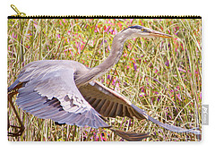 Big Bird In Flying Color Carry-all Pouch