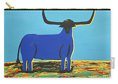 Big Blue Bull Carry-all Pouch