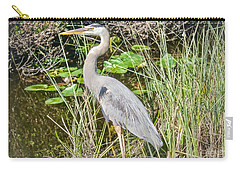 Big Blue On The Alert Carry-all Pouch by Judy Kay