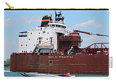 Big Boat Little Boat 3 Carry-all Pouch by Mary Bedy