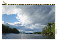 Carry-all Pouch featuring the photograph Big Brooding Sky by Lynda Lehmann
