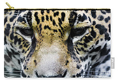 Big Cat Carry-all Pouch by Suzanne Luft