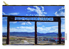 Big Creek Ranch Carry-all Pouch by L O C