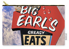 Carry-all Pouch featuring the photograph Big Earls by Paul Wear
