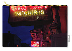 Carry-all Pouch featuring the photograph Big Easy Sign by Steven Spak