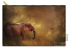 Carry-all Pouch featuring the photograph Big Ed by Linda Blair
